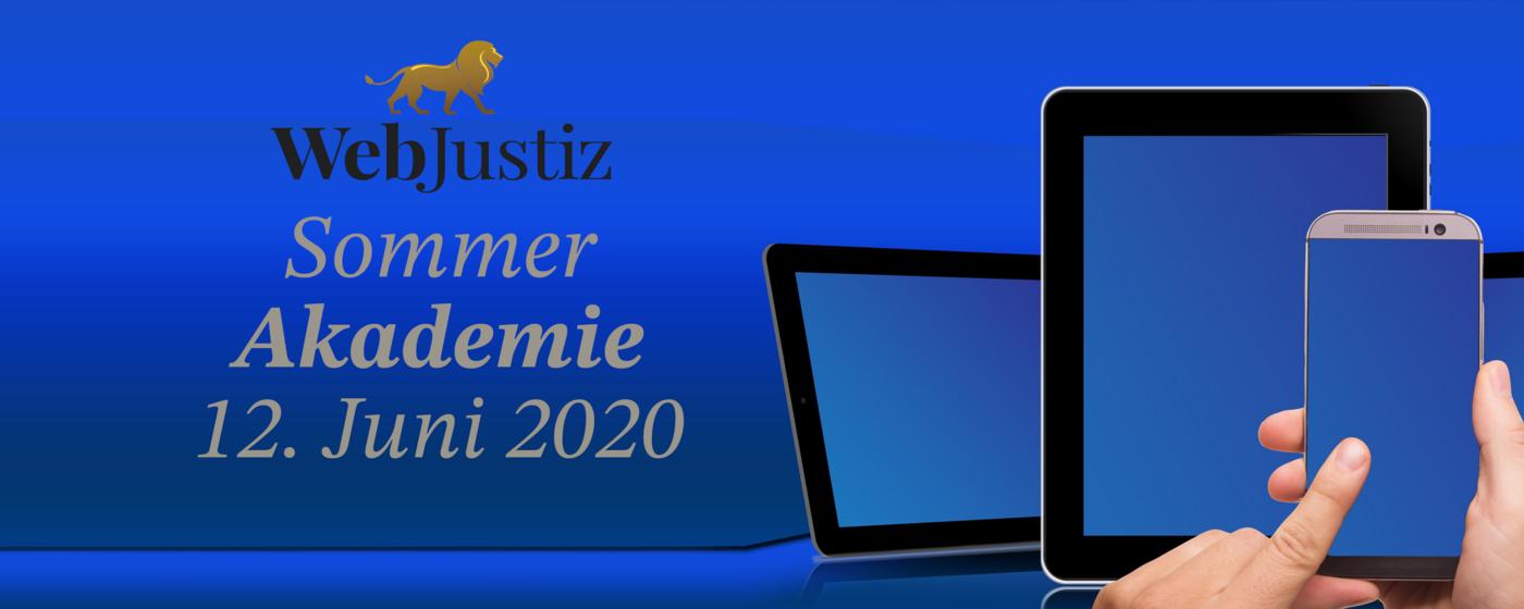 WebJustiz Sommerakademie 1400x650 - Sommerakademie 2020