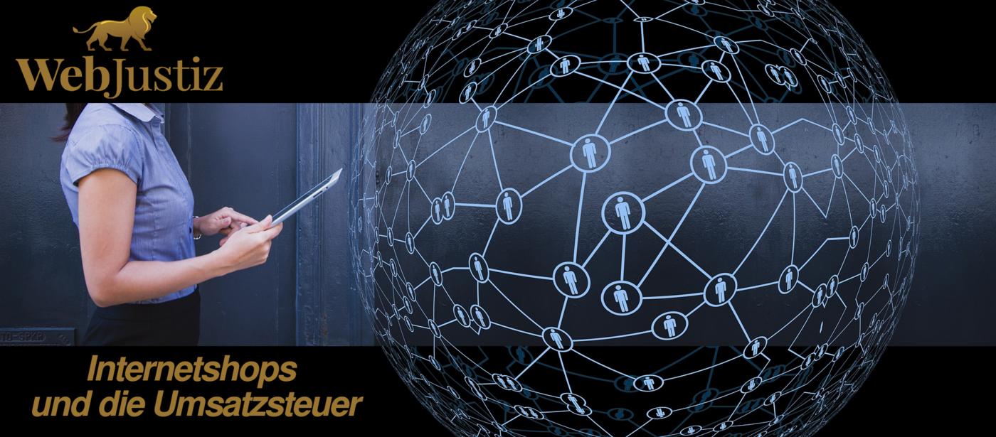 WebJustiz Internetshops und die Umsatzsteuer - Internetshops - und die Umsatzsteuer